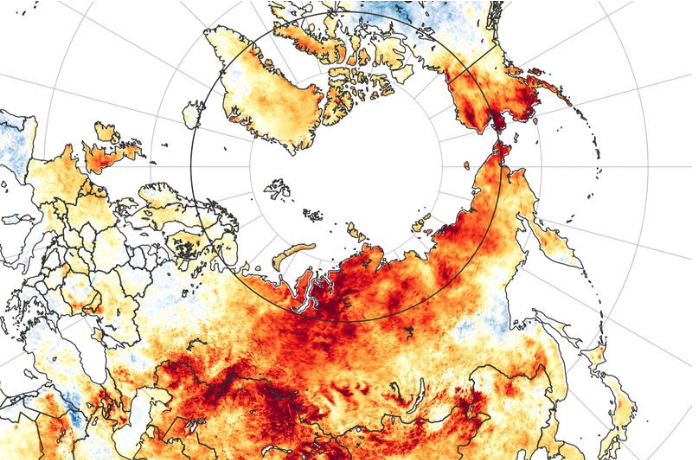 Siberian Fires Continue to Increase as Region Swelters in Record Heatwave