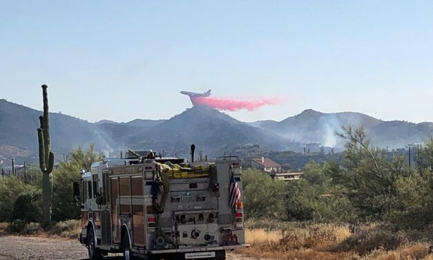 Ocotillo Fire Burning In Cave Creek, Several Homes Destroyed