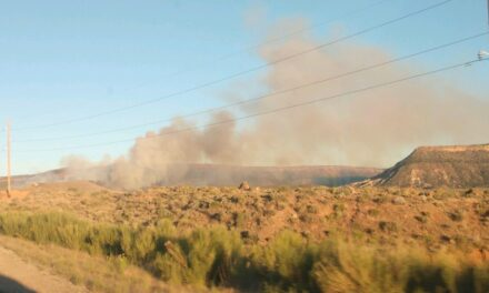 Wildfire near Apple Valley fully contained; Body found in burned structure