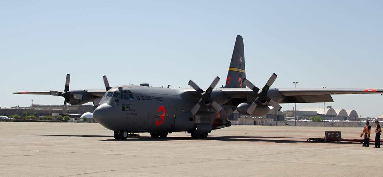 Two MAFFS-equipped C-130 aircraft activated to assist with wildfires