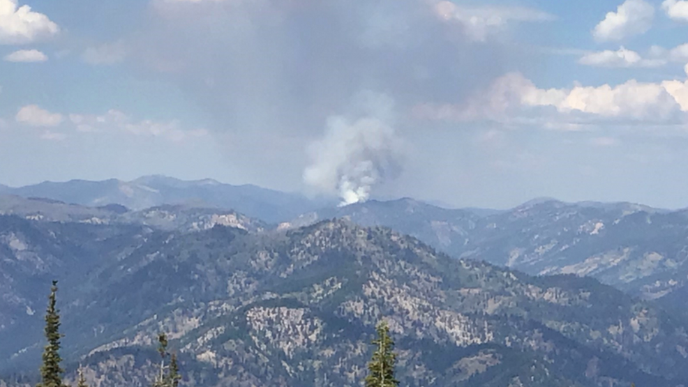 Helicopters, tankers and crews still fighting fires in Boise National Forest