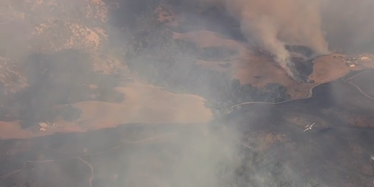 Crews Fire east of Gilroy grows to 1000 acres, evacuations issued