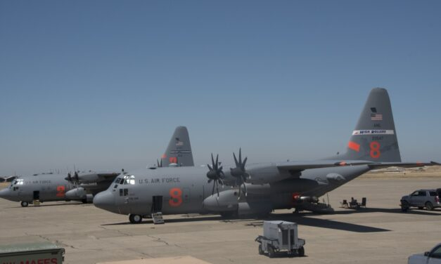 Nevada Air Guard MAFFS activation extended as western wildfires rage
