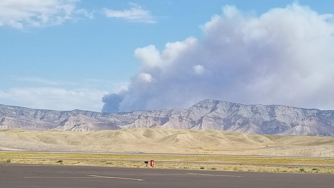 Wildfire near Grand Junction grows to 1,500 acres