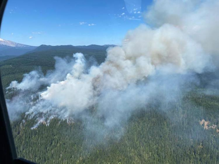 Pilot of K-MAX Helicopter Killed Fighting White River Fire