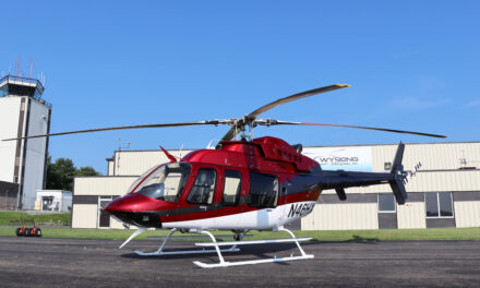Wysong Enterprises Completes Eagle Copters  Eagle 407HP for Helicopters Express