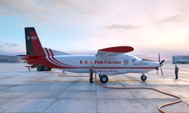 New, Large-Capacity Firefighting Aircraft Launches