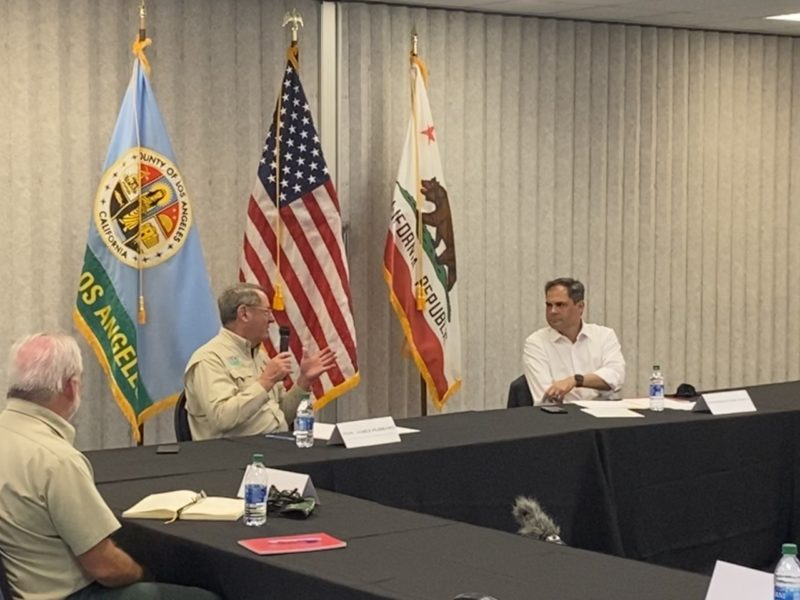 Garcia hosts wildfire roundtable with fire, government leaders