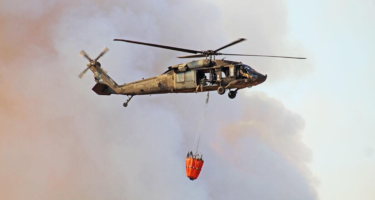 Aviators, fire department douse blazes on Fort Hood
