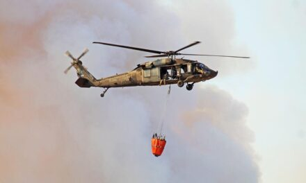 Naval Station Norfolk brings back the 'Bambi Bucket' to put out fires, save lives