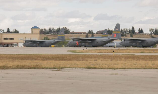 Wyoming's C-130s Play Key Role in Fighting Regional Wildfires