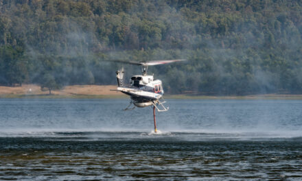 Aerial Support Called to Fight Avenel Fire