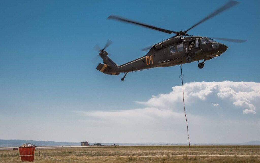 WYOMING ARMY NATIONAL GUARD ACTIVATED TO ASSIST WILDFIRE FIGHT IN CALIFORNIA