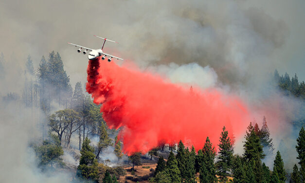 Record Amount of Fire Retardant Dropped this Year from Jeffco Airtanker Base