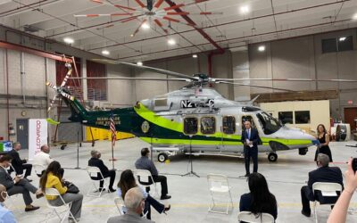 Miami-Dade Fire Rescue upgrades helicopter fleet with delivery of first AW139 helicopter