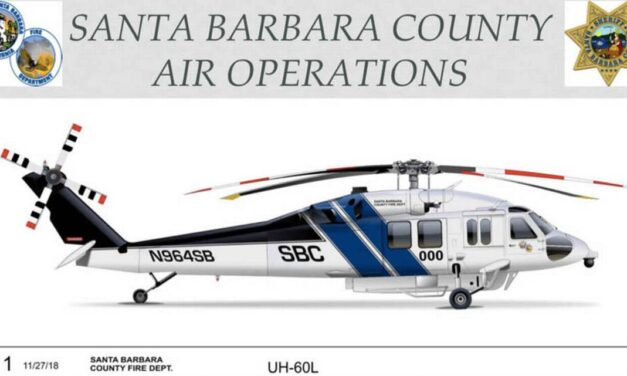 Santa Barbara County Introduces Refitted UH-60L as Copter 964 for Aerial Firefighting and Rescue