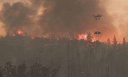 Drone operator says latest technology would increase firefighting speed