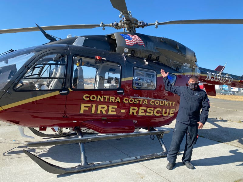 Contra Costa County Firefighters Unveil New Helicopter