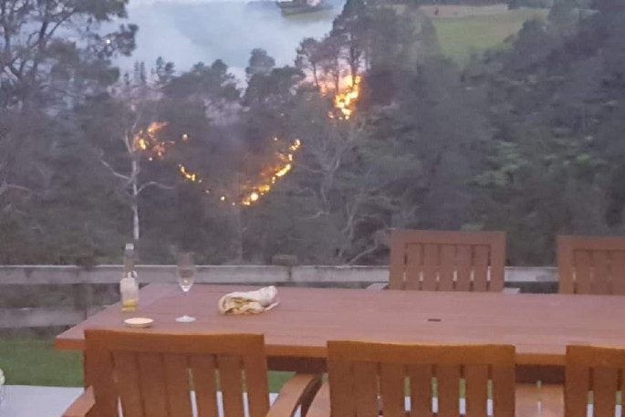 Kaimai bush fire now contained