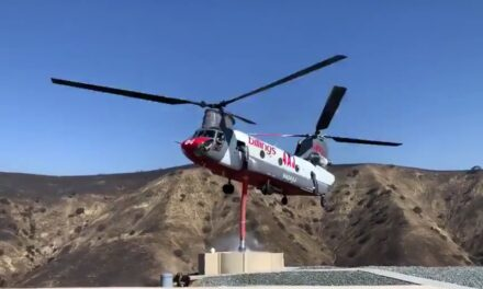 Yorba Linda Water District Heli-Hydrant enhances Blue Ridge wildfire response