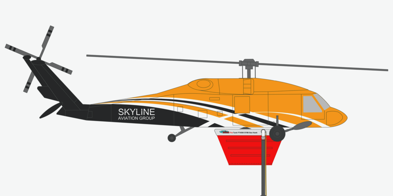 Skyline Aviation to Begin Aerial Firefighting with Australia's first S-70 Aerial Firefighter