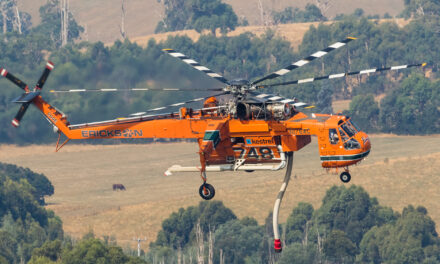 LAT Boosts Aerial Firefighting Capability as Erickson Air Crane Arrives in Western Australia