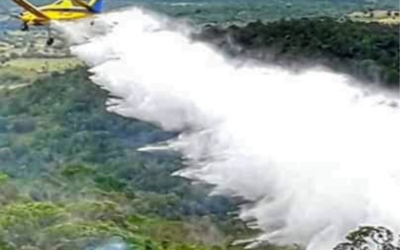 Aerial Firefighting Thrives in Brazil with the Help of Agricultural Aviation