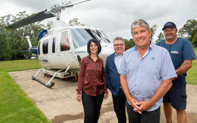 A collaborative approach to detecting, fighting & extinguishing bushfires