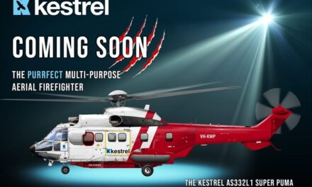 Kestrel Aviation to Receive an Airbus Super Puma for Aerial Firefighting