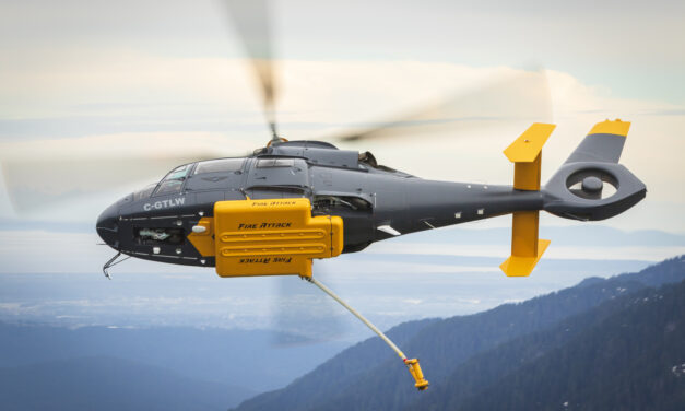 DART Aerospace receives Transport Canada Approval for Night Hover Refill Operations with Talon Helicopters' AS365 Fire Attack System