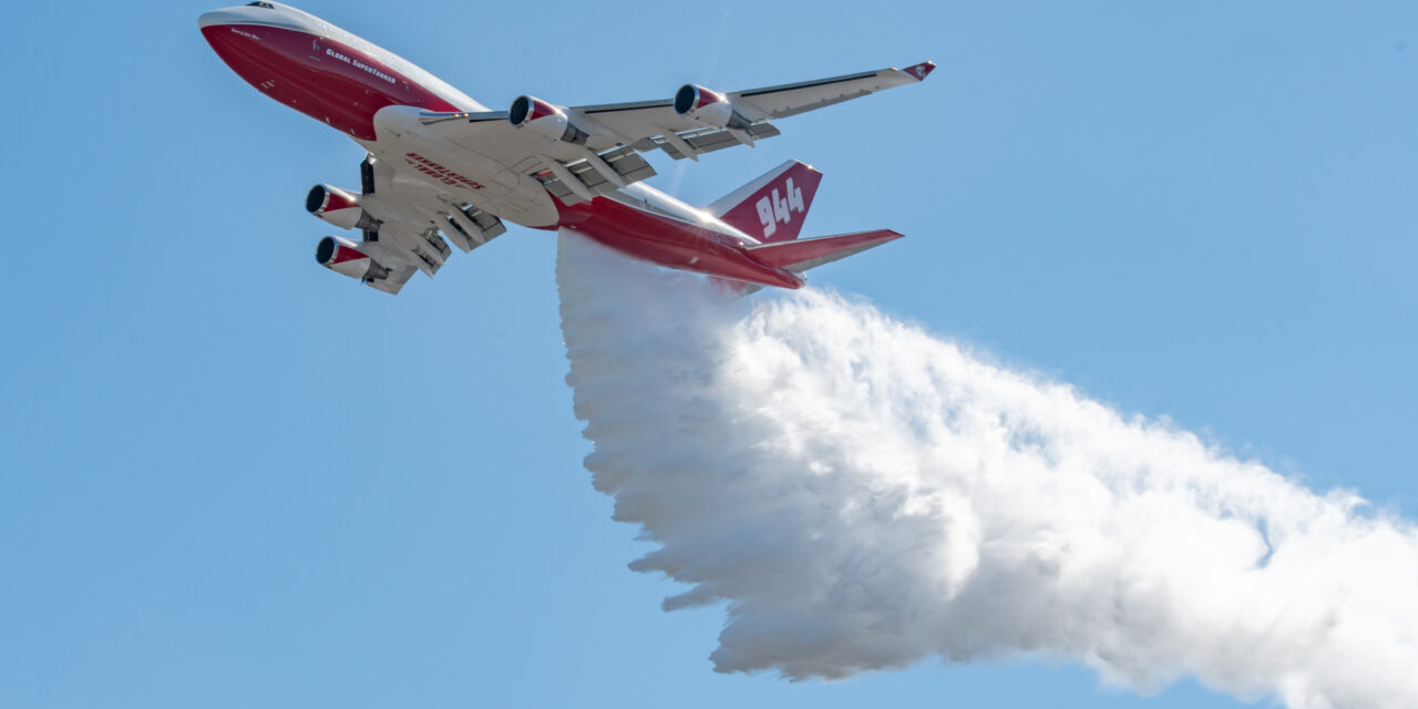 WA desperately needs more aerial wildfire resources, converted Boeing 747 could help