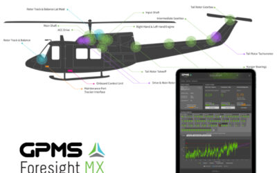 GPMS Announces STC on the Bell 212/412 Helicopter for Its Predictive Health and Usage Monitoring System Foresight MX