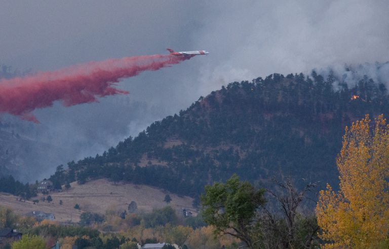 Colorado competes with other states for wildfire-fighting aircraft. Climate change makes that a big problem