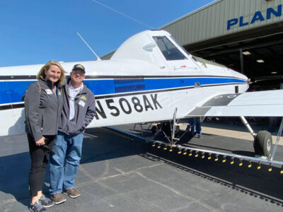 Air Tractor Delivers 4000th Air Tractor Aircraft