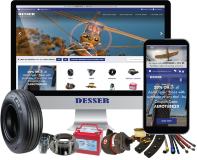 Desser Aerospace Launches New Retail and Wholesale Website shop.desser.com