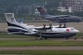 China's AG600 amphibious aircraft begins firefighting capacity testing
