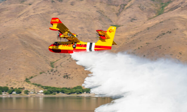 Wildfire burning near Embarrass 50% contained, cause determined to be powerline