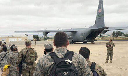 California Air National Guard and USDA Forest Service Conduct Annual Aerial Firefighting Training