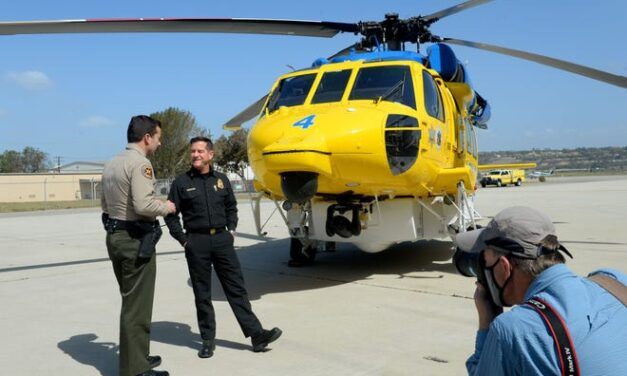 Two new Firehawk helicopters beef up firefighting arsenal in Ventura County
