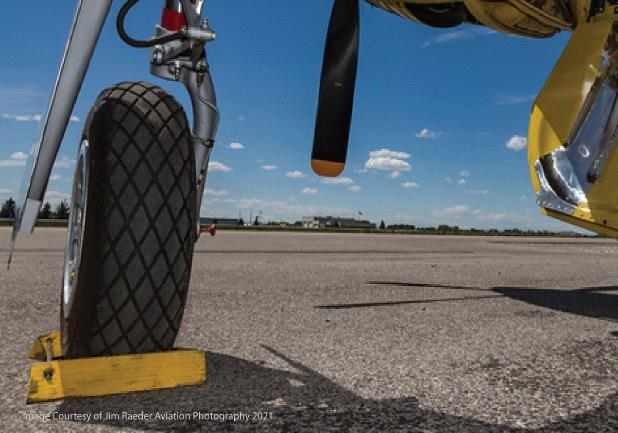 The COVID Effect on Aircraft Tire Supply: Before, Now and Future.