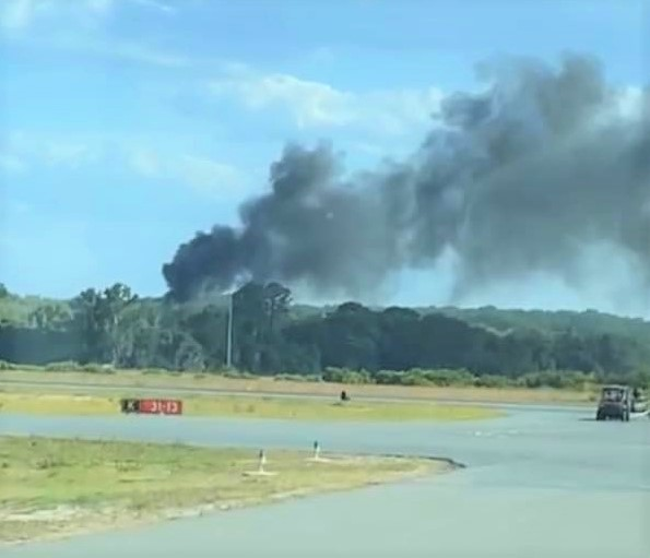 UPDATED: Four Feared Lost in UH-60A Firefighting Helicopter Crash in Leesburg, Florida