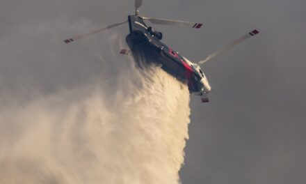 First of its Kind in Aerial Wildfire Firefighting