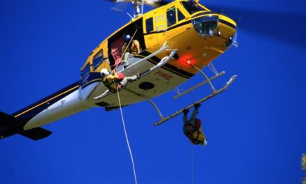 Wildland firefighters using Bitterroot location to train for aerial attack