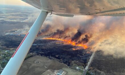 Wisconsin DNR Utilizes Air Support to Keep Wildfires Small During Busier than Usual Fire Season