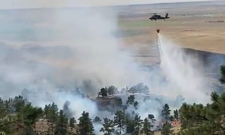 Fire and air: Civil Air Patrol assists in early detection of wildfires