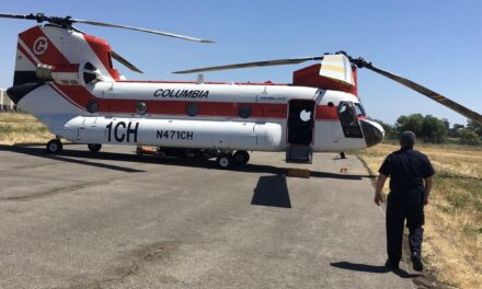Firefighting helicopter arrives at Napa County Airport in time for wildfire season