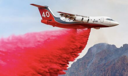 Aerial Firefighting Response to Arizona Fires 'A Small Air Force'