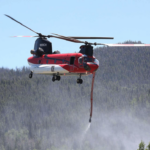 Aerial resource requests to fight Muddy Slide Fire competing with requests from blazes across Colorado