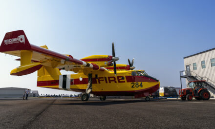 Bridger Aerospace Takes Delivery of Fourth CL-415 EAF