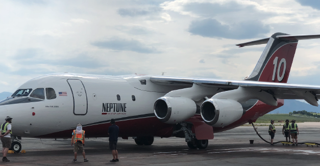 State Fire Agency Brings On Large Air Tanker to Support Colorado Wildfires
